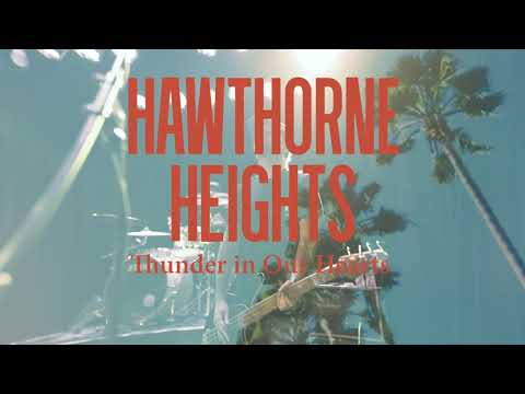 Hawthorne Heights – Thunder in Our Hearts Lyrics